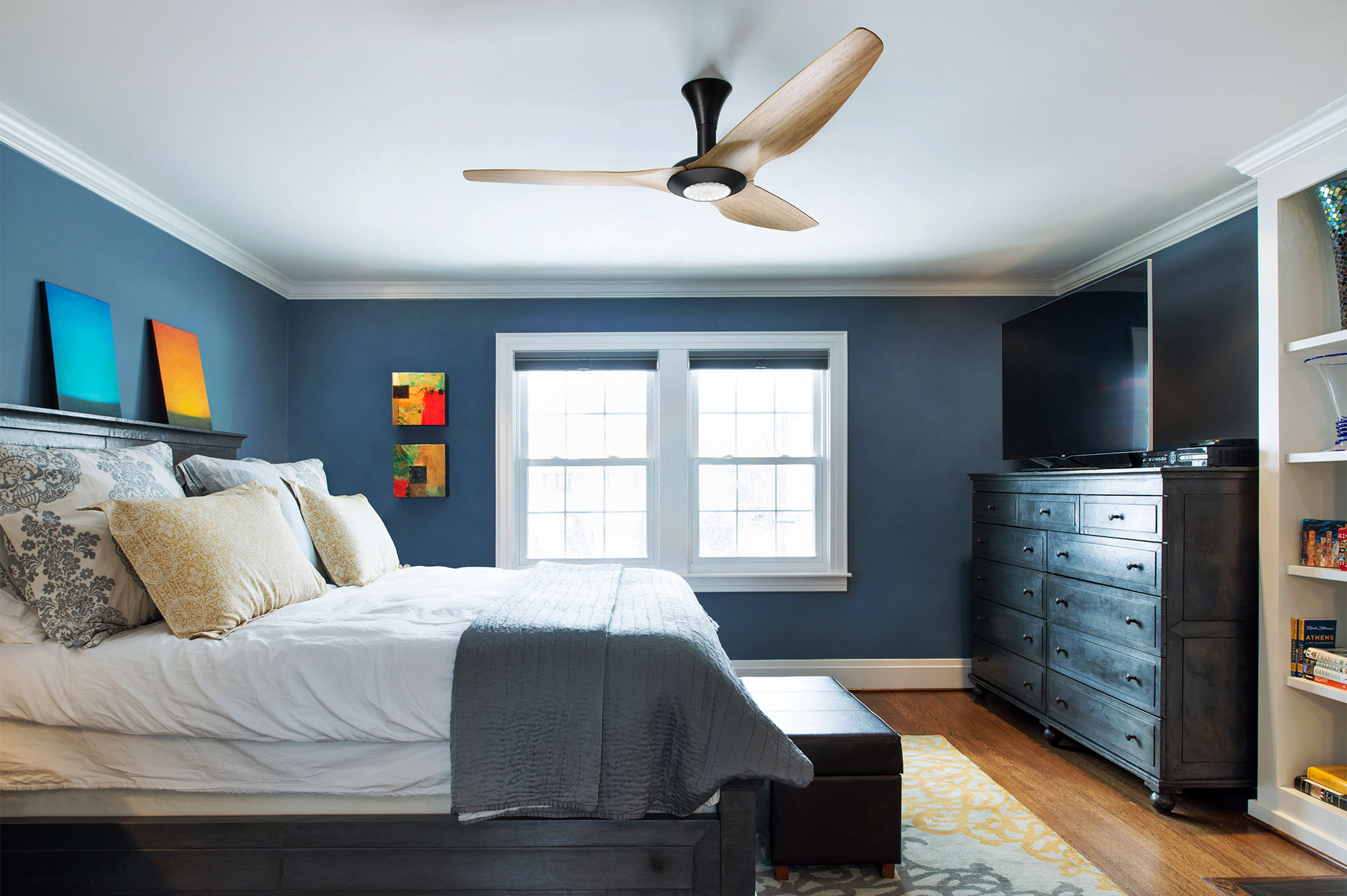 Does A Ceiling Fan Lower The Room Temperature