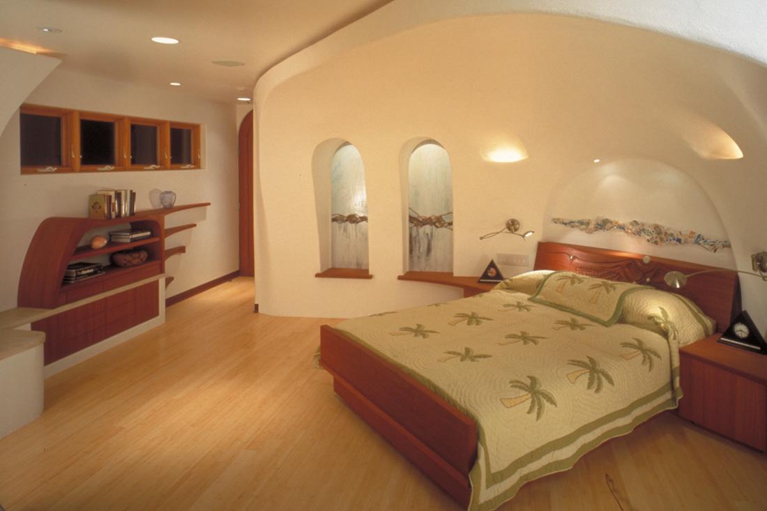Bedroom. Photo by Melinda Holden.
