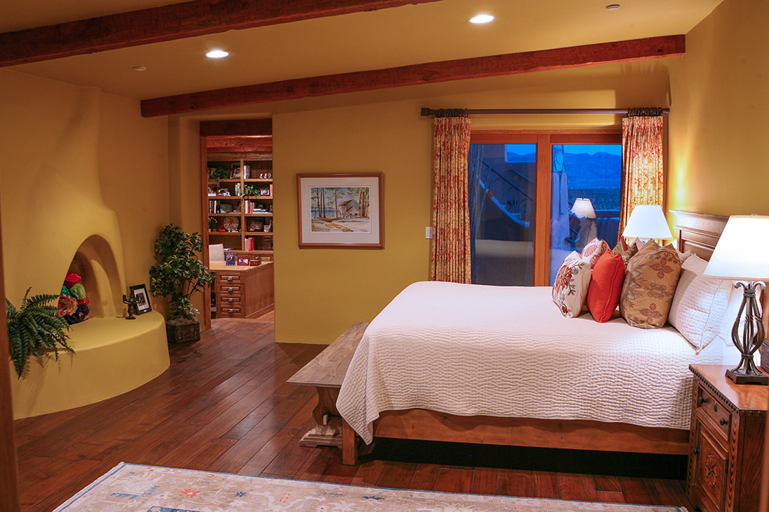 Bedroom. Photo by Glyn Jones.